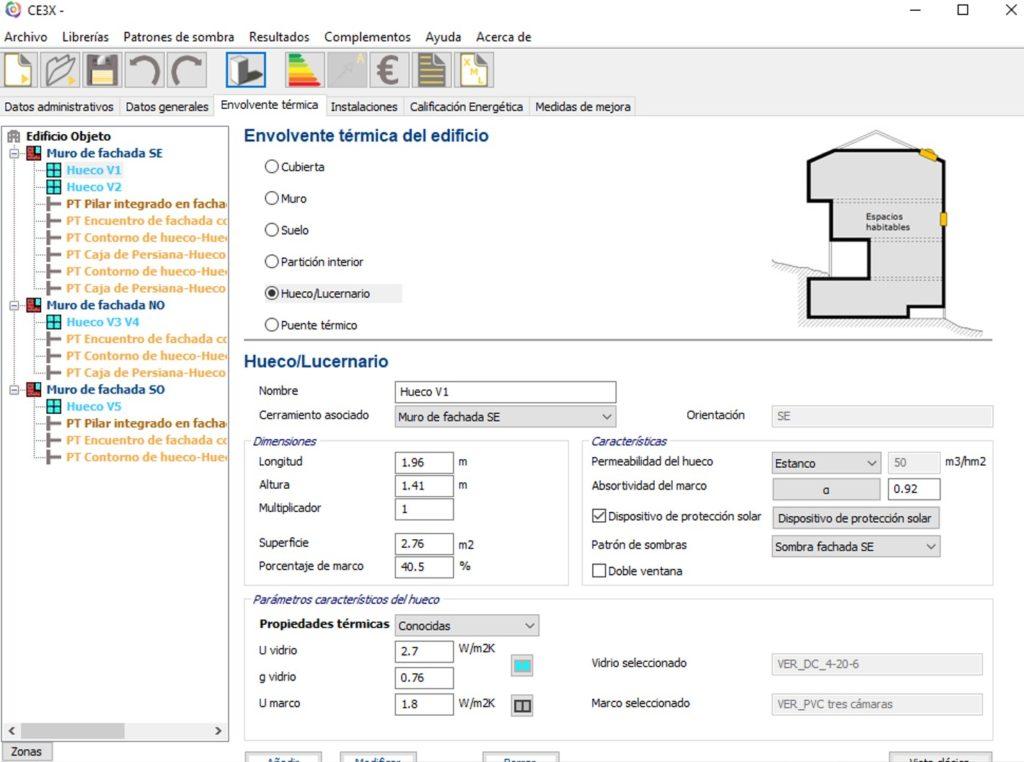 Programa Certificacion Energetica CE3X