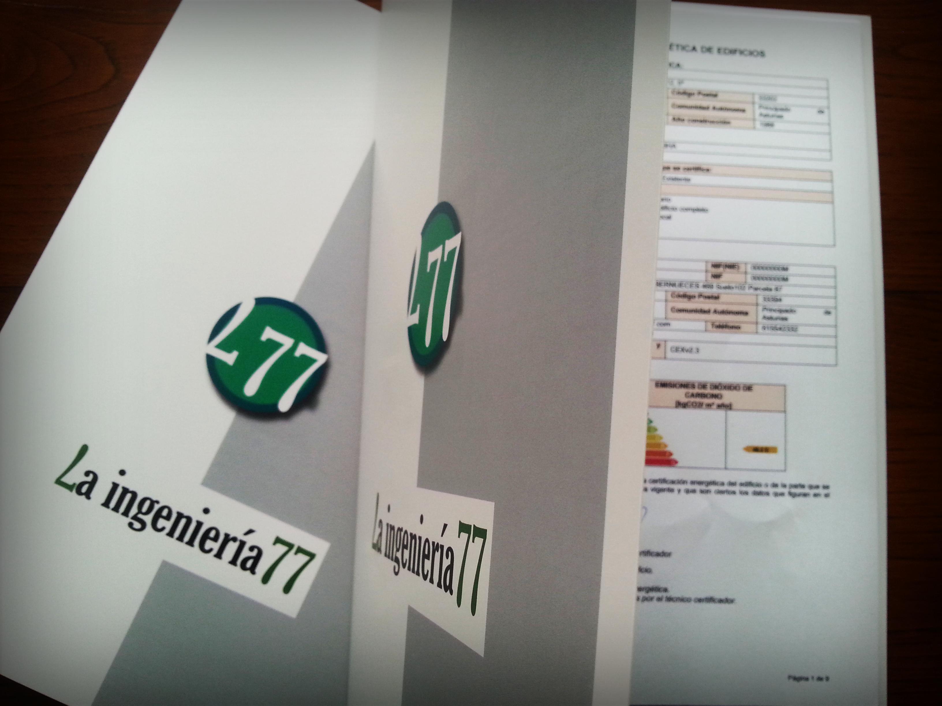 Certificados energéticos entregados por La Ingeniería77